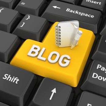 iStock_blog write keyboard