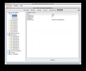JConsole screenshot