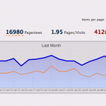3,000+ Page Views a Month!