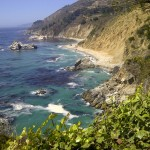 northern california big sur mcway waterfall