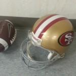 20121217_184950  NFL Helmet San Francisco 49ers