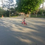 My Niece Learned to Ride a Bike